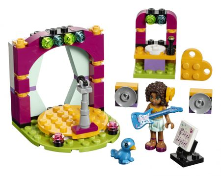 LEGO® Friends 41309 Andrejin glasbeni duo