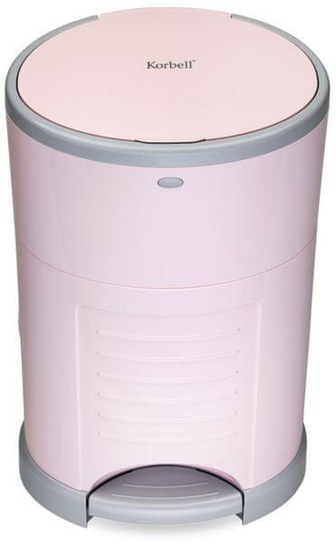 Korbell Koš na pleny, Pink