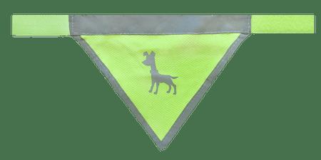 Alcott rutka za psa, neon rumena, M