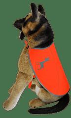 Alcott Fényvisszaverős kutyaruha, Neonnarancs