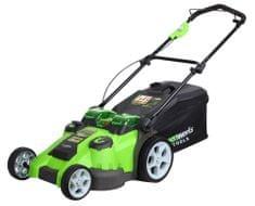 Greenworks Aku kosačka na trávu 40 V (G40LM49DB)
