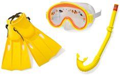 Intex Detská potápačská sada s plutvami a šnorchlom