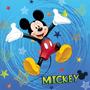 2 - Jerry Fabrics Mickey egér 2016 Párna, 40x40 cm