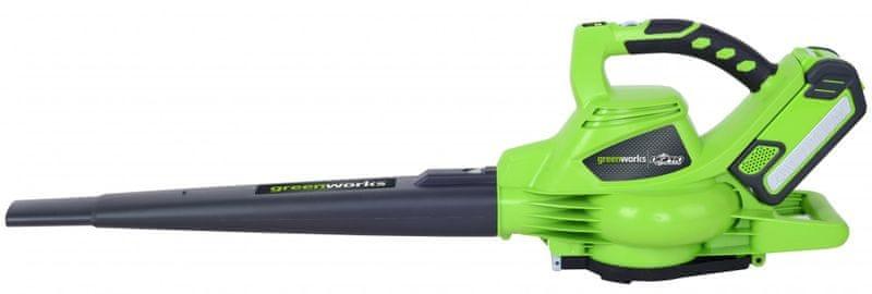 Greenworks Vysavač/foukač s aku motorem 40 V (GD40BV)