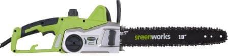Greenworks piła lańcuchowa z silnikiem elektrycznym (GCS2046)