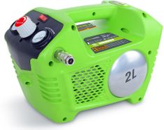 Greenworks Aku Olajmentes kompresszor (G40AC)