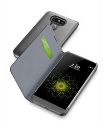 CellularLine pouzdro typu kniha Book Essential pro LG G5, černé