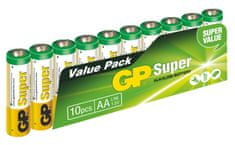 GP Super Alkaline AA 10ks