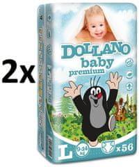 DOLLANO Baby Premium L - 112 ks