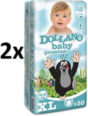 DOLLANO Baby Premium XL - 100 ks