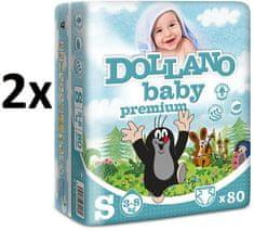 DOLLANO Baby Premium S - 160 ks