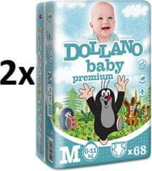 DOLLANO Baby Premium M - 136 ks