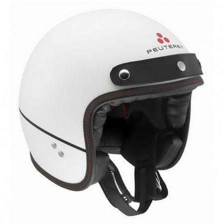 AGV motocyklová jet prilba  RP60 Shelter Peuterey biela matná vel.XS (53-54cm)
