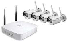 Dahua video nadzorni komplet IP Wi-Fi (4x HFW1120S + 4x NVR4104)