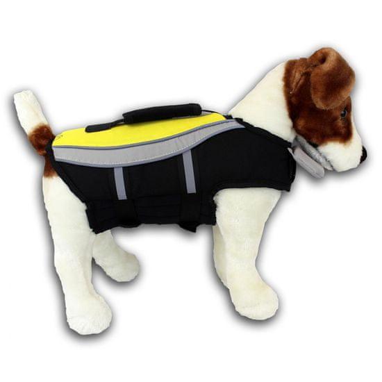 Alcott Kamizelka do pływania dla psa, żółta