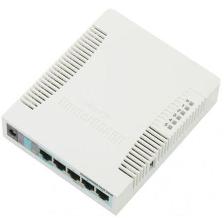 Mikrotik brezžična dostopna točka RB951G-2HND, 5-portna