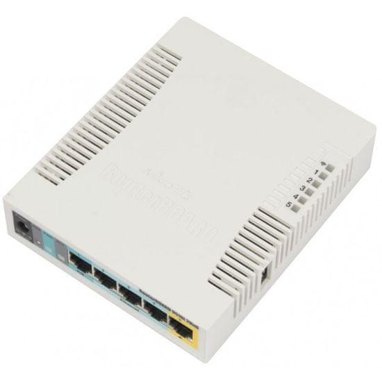 Mikrotik brezžična dostopna točka RB951Ui-2HnD PoE, 5-portna