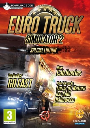 Excalibur Publishing Euro Truck Simulator 2 - Special Edition (PC)
