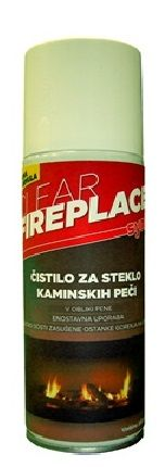 Synt čistilo za steklo kaminskih peči Spray Clear Fireplace, 200 ml