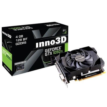 inno3D grafična kartica GeForce GTX 1050 Ti, 4GB GDDR5 (N105T-1SDV-M5CM)