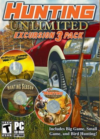 THQ Hunting Unlimited Excursion 3-Pack (PC)