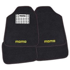 Momo International komplet tepihov, rdeče-črni CM016BR