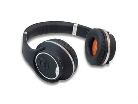 Conceptronic brezžične Bluetooth slušalke, črne