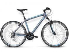 "KROSS rower crossowy Evado 2.0 grafit-niebieski mat M 19"" model 2016"