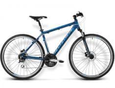 KROSS rower crossowy Evado 3.0 granatowy-niebieski mat model 2016