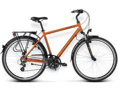 """KROSS rower trekkingowy Trans Atlantic brązowy-miedziany S 17"""" model 2015"""