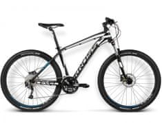 """KROSS rower górski Level R3 czarny-biały-niebieski L 21"""" model 2016"""