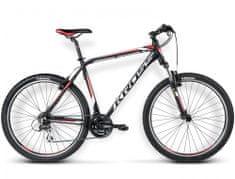KROSS rower górski Hexagon R3 czarny-biały-czerwony model 2016