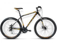 """KROSS rower górski Hexagon R4 czarny-pomarańczowy-biały L 21"""" model 2016"""