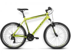 """KROSS rower górski Hexagon X1 limonka-czarny L 21"""" model 2016"""