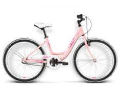 KROSS rower dziecięcy Julie pudrowy różowy model 2016