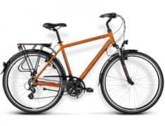 KROSS rower trekkingowy Trans Atlantic brązowy-miedziany model 2016