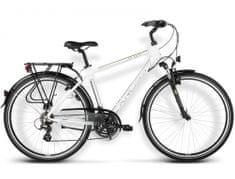 KROSS rower trekkingowy Trans Atlantic biały-zielony R16