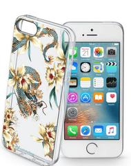 CellularLine gelové pouzdro STYLE pro iPhone 5/5S/SE, motiv DRAGONS