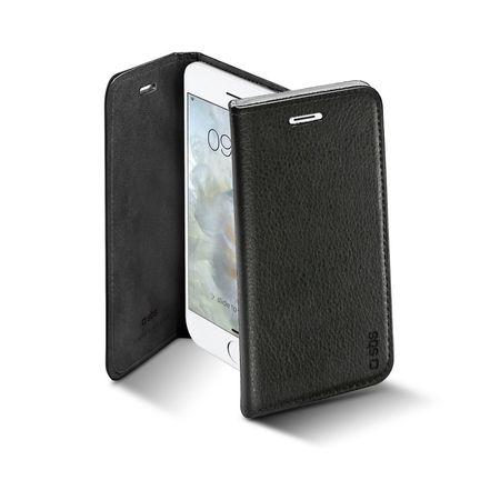 SBS preklopna torbica za iPhone 7, črna