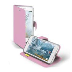 SBS preklopna torbica sa stalkom, za iPhone 7, ružičasta