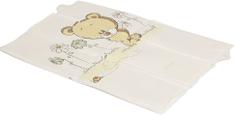 Ladotex skládací cestovní přebalovací matrace, medvídek s kvítky