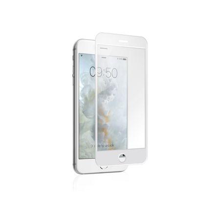 SBS zaščitno steklo 3D za iPhone 7, belo
