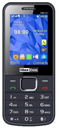 MaxCom MM141, Dual SIM, šedý