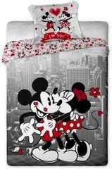 Jerry Fabrics povlečenMickey & Minnie New Yorkban Ágyneműhuzat, 140x200 70x90
