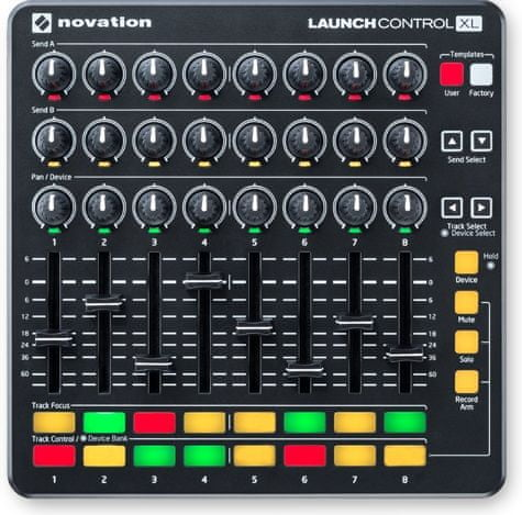 Novation Launch Control XL Black USB/MIDI kontroler