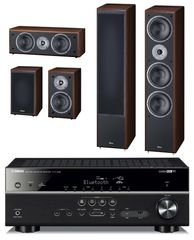 Yamaha HTR-4068 + Magnat Monitor Supreme 1002 set, kávová