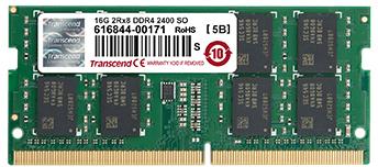 Transcend pomnilnik (RAM) DDR4 4GB PC2400 SODIMM