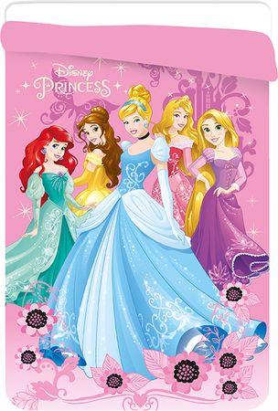 Jerry Fabrics Disney Hercegnők Paplan, 180x260 cm