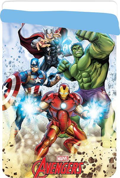 Jerry Fabrics Avengers prošívaná deka 180x260 cm