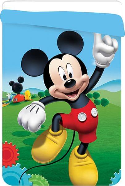 Jerry Fabrics Mickey prošívaná deka 180x260 cm
